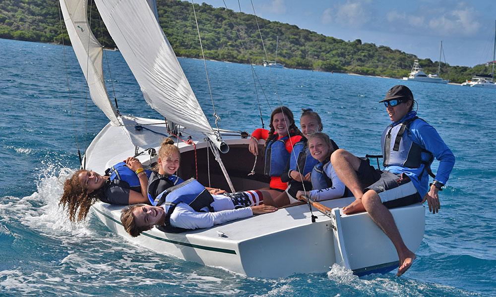 Aquarius Adventure Advanced Scuba Summer Camp Sailing Program